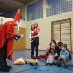 Nikolaus besucht die Mutter-/Vater-Kind-Turnstunde