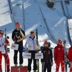 Siegerehrung Gesamtwertung Alpencup