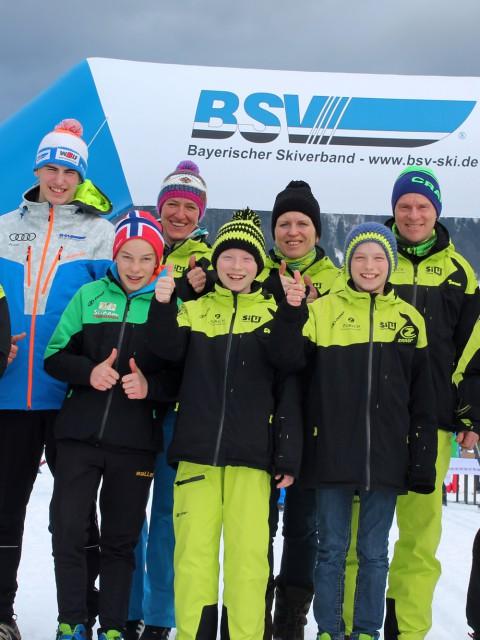 Das Team aus OberWarmensteinach
