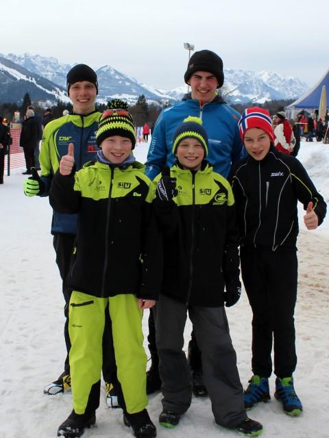 Die Teilnehmer aus Warmensteinach/Oberwarmensteinach
