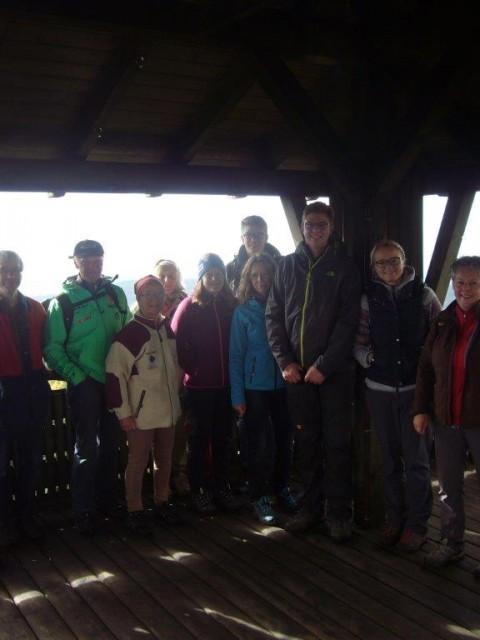 Auf dem Oberpfalzturm