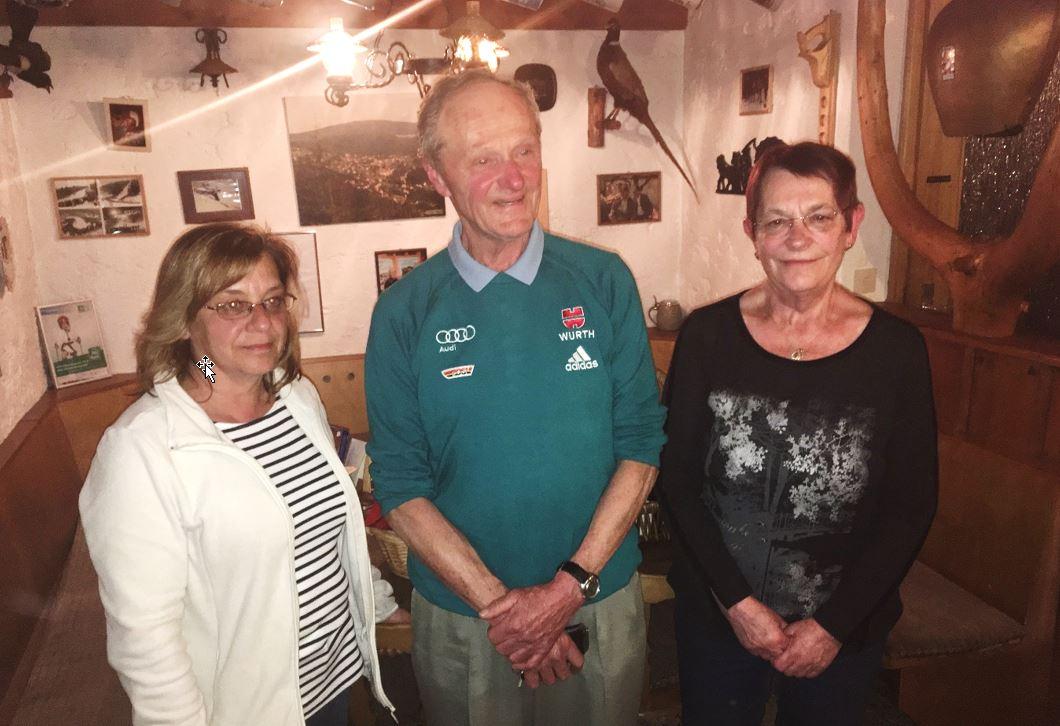 Verabschiedung von Heidi Hochmuth, Rolf Feuchtenberger und Angela Günther